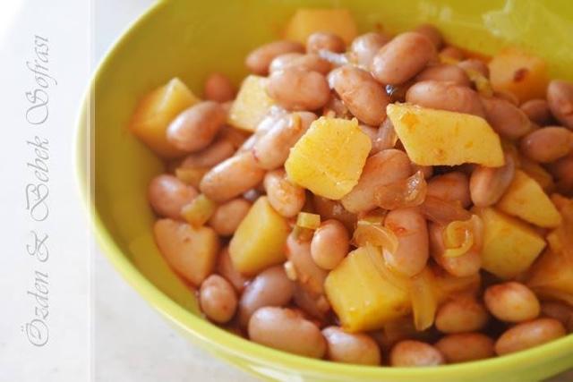 Patatesli Barbunya +8ay